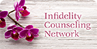 Infidelity Counseling Network visual UI design
